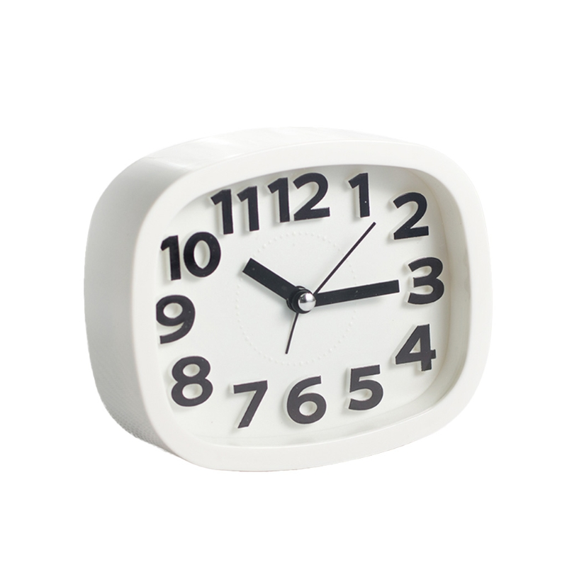 Mini Cute Portable Alarm Clocks Battery Bedside Desk Table Home Decor Kid Gifts