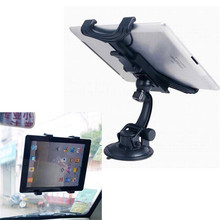 Reliable Compatible with 7-13 inch tablet Universal Car Windshield Mount Holder Stand for iPad 2/3/4/5 Galaxy Tablet PCs