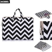 Jacodel Fashion Women Laptop Handbags Sleeve Case 11 11.6 12 13 13.3 15 15.6 Laptop Sleeve Bag Case for Macbook Tablet Line Case