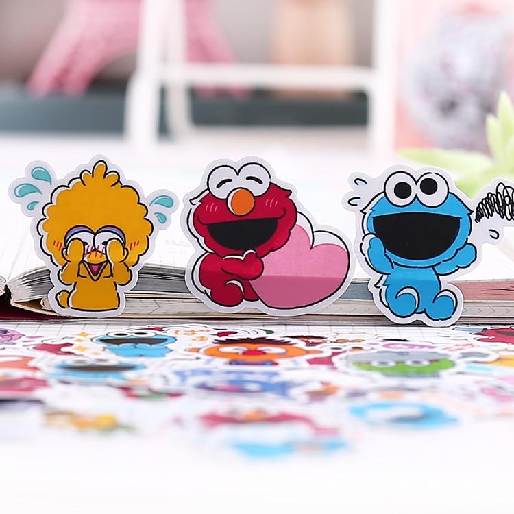40pcs/pack Handbook Lovely Korean Cartoon Decoration Handbook Stickers Pack Ins Heart Tool Waterproof Stickers