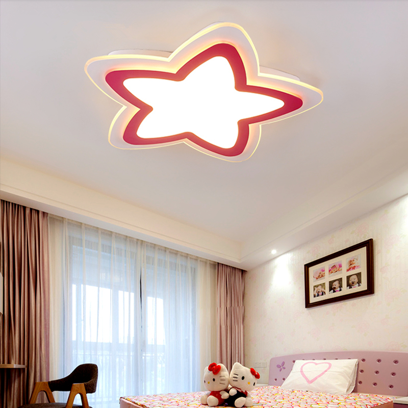 Modern LED ceiling lights living room ceiling lamps Novelty fixtures Acrylic illumination children's bedroom ceiling lighting все цены