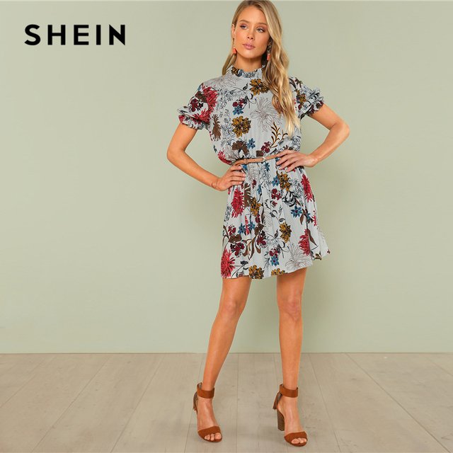 Bohemian A-Line Summer Casual Dress