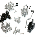 Complete Fairing Bolts Kits For Hond CBR 600 F4i CB250R CB1000R CB1100 silver