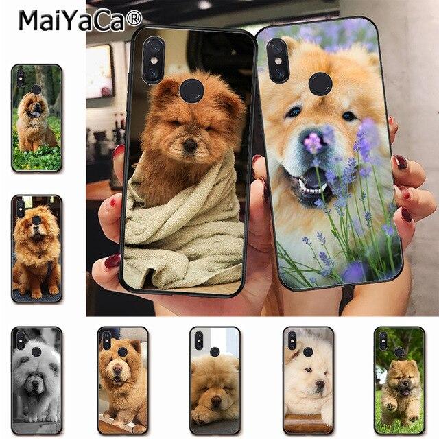 US $1 43 10% OFF MaiYaCa Cute Chow Chow dog puppy animal Top Design Phone  Case for xiaomi mi 6 8 se note2 3 mix2 redmi 5 5plus note 4 5 5 case-in
