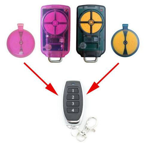 ATA PTX5 TrioCode GDO Garage Door Remote Replacement PTX-5v1 GDO 11v1/6v3/6v4 free shipping ata ptx5 tricode replacement remote 1234button ptx 5 radio contol remote 433 92mhz 434 37mhz 433 37mhz