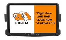 Восемь основных Android 7.1.2 2 ГБ Оперативная память otojeta автомобильный DVD для Renault Duster dacia logan Sandero экран стерео радио GPS 1080 P WI-FI 3G/4 г