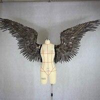 Виктория сикрет Ангел перо Крылья большой взрослые модели показа нижнее белье для Дьяволицы крыло реквизит