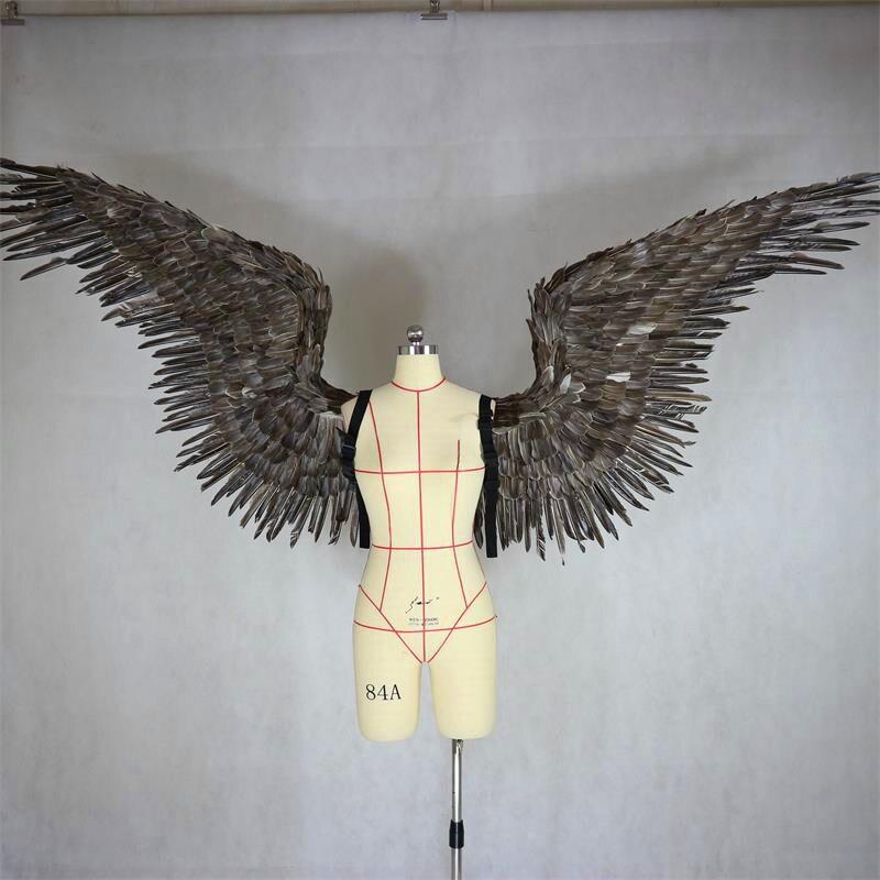 Victoria secret de plume d'ange ailes grand adulte modèle défilé défilé sous-vêtements pour le diable aile accessoires