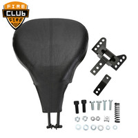 Leather Seat Adjustable Driver Rider Backrest Back Rest For Harley Street Electra Road Glide King Touring FLHR T X Back Rest