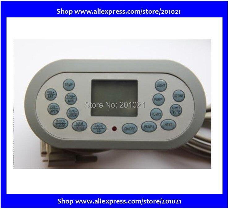 KL8-2 spa contrôleur panneau d'affichage de remplacement pour chinois spa JNJ, Monalisa, jazzi, yehua sanitaires, et pour d'autres spa pièces