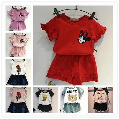 15 couleurs enfants vtements ensembles court t chemises sport costume robes enfants vtements garons shorts