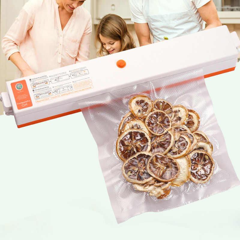 Embalador de alimentos A Vácuo Selador Máquinas de Embalagem de Filme RT99 Recipientes Para Cozinha de Casa