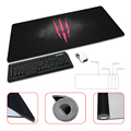 Red Logo for The Witcher 3 Wild Hunt Anti-slip Gaming Fashion Rectangular Mouse Pad Four Sizes to Choose