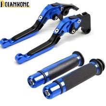 Motorcycle Brake Clutch Levers Handlebar Hand Grips for SUZUKI GSXR 600 750 K6 K7 K8 K9 K10 2006-2010& GSXR1000 K5 2005 2006