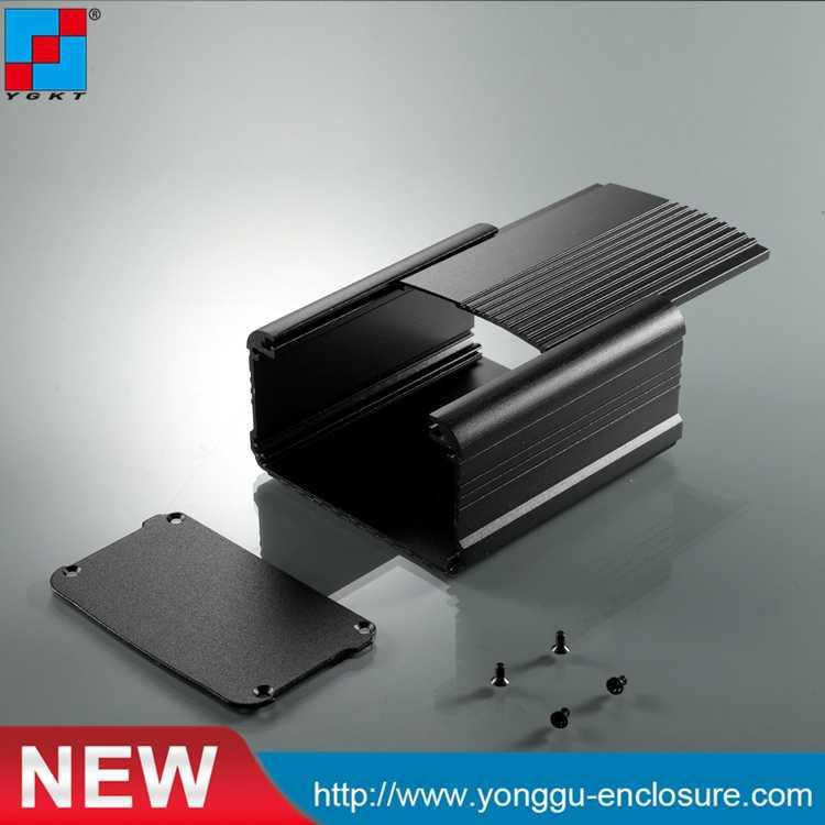 Black DIY Electronic Metal Project box Instrument Enclosure Case 145*182*92mm