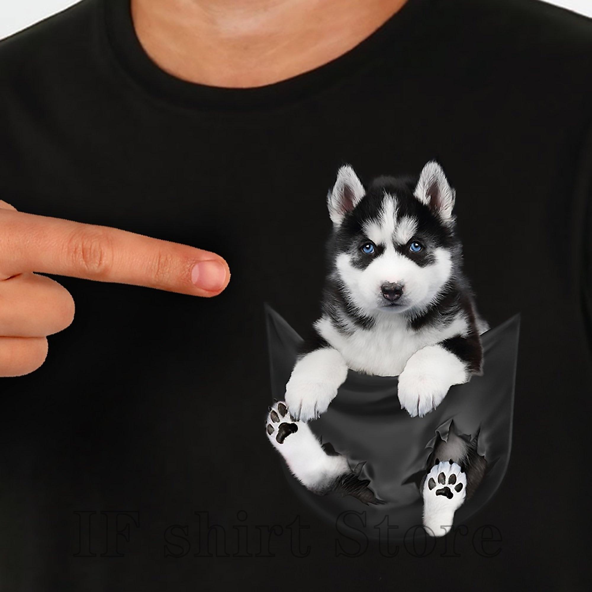 Unique T Shirt Men Uni Fit Funny Dog