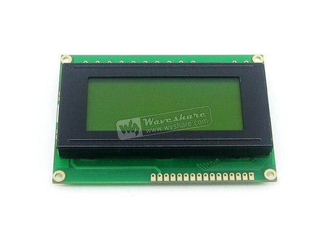 LCD1604 5V Yellow Backlight 16*4 Character LCD Module LCM Display TN/STN Black Character 5V Logic Circuit