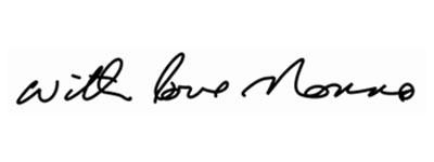 Signature attachment clear picture