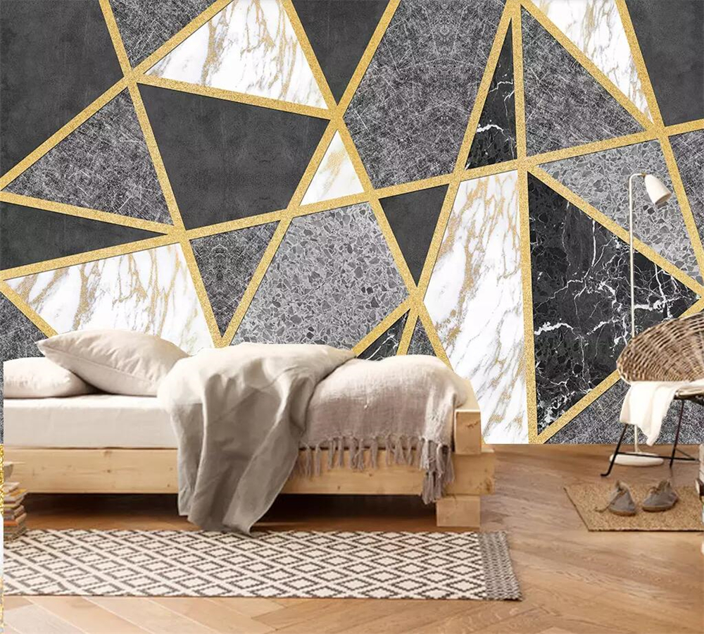 texture bedroom wall geometric background 3d marble living lines sofa papel beibehang custom zoom wallpapers parede