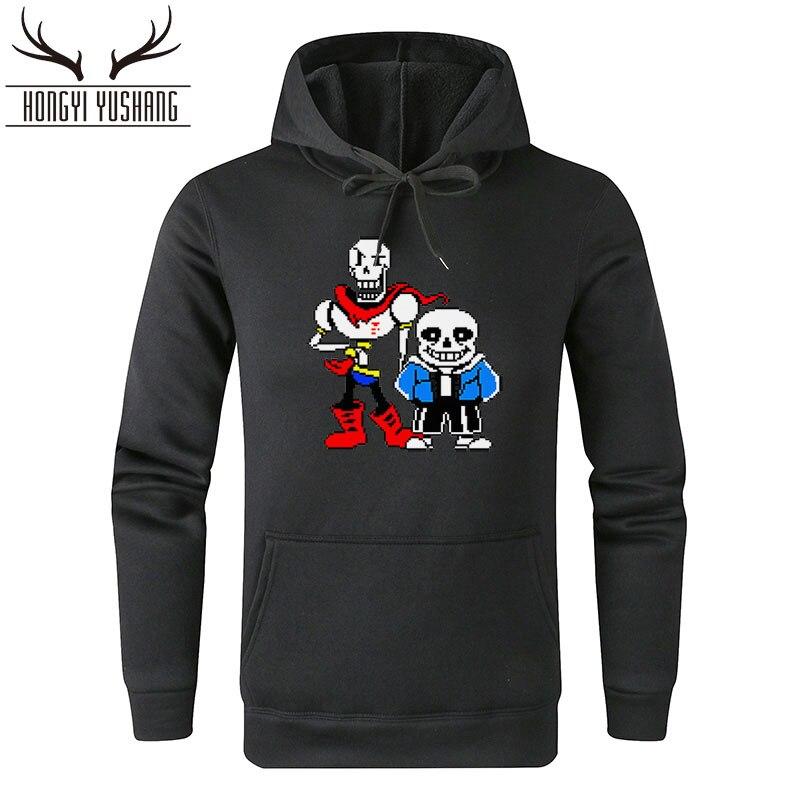 Herbst Winter Neue Undertale hoodies männer 2018 harajuku mode Coole druck männer frauen hoodie sweatshirts W38