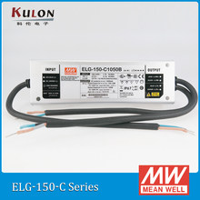 Pilote de LED à courant constant d'origine bien ELG-150-C500B 500mA 150 W PFC IP67 dimmable Meanwell alimentation(China)