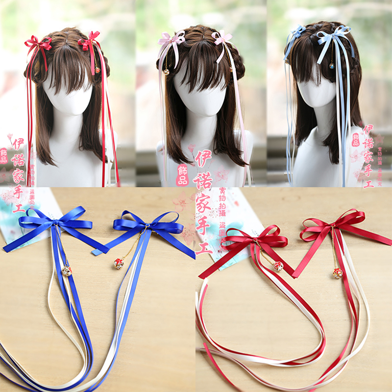 Vintage Hair Clips Organiser Holder Ribbons Cosplay Prop Hair Accessories Hair Bows Baby Hair Accessories For COS Girl Gift