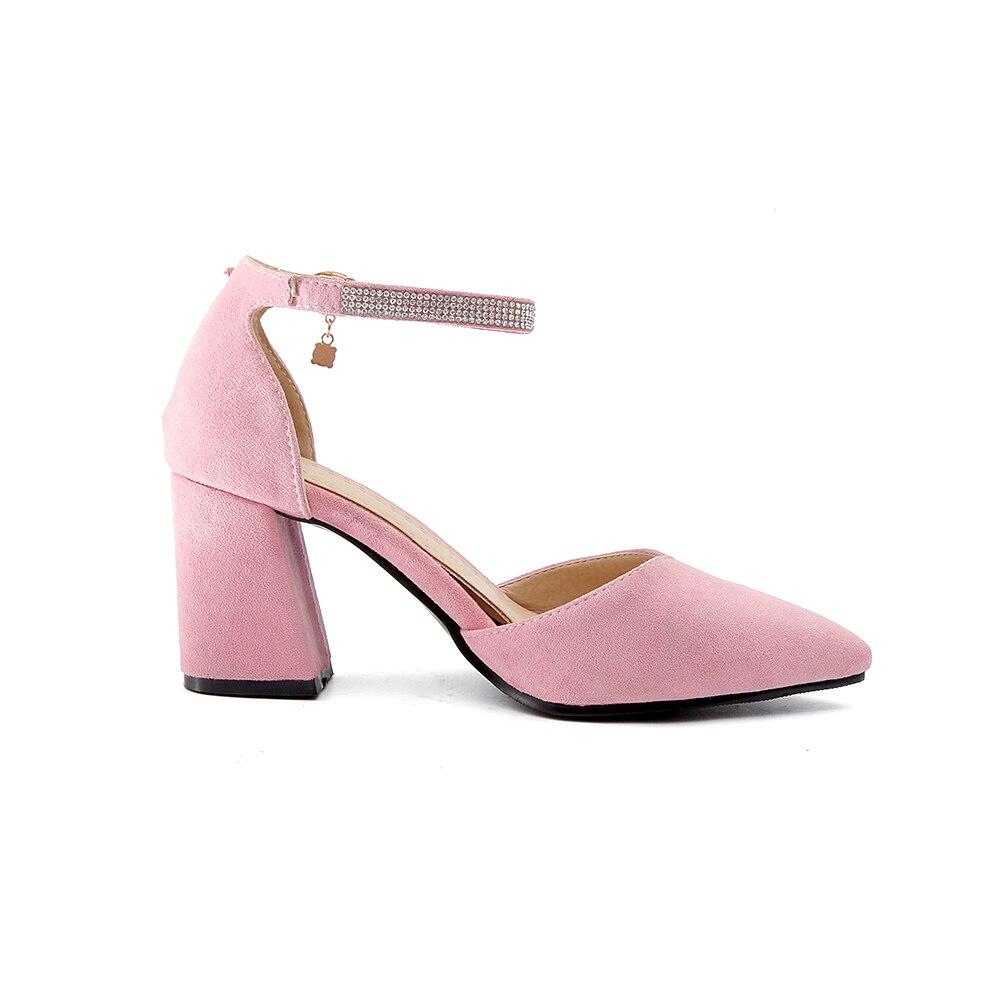 Cristal 46 11 Bk02 El Mujeres Elegante Rosa 32 Grande black 10 Sandalias  Tacones Desnudo pink ... accf760128a8a