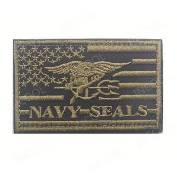 3D Borduren Patch USA Amerikaanse Vlag ONS Marine Moraal Patch Tactische Embleem Applicaties Seals Badges Klittenband Geborduurde Patches