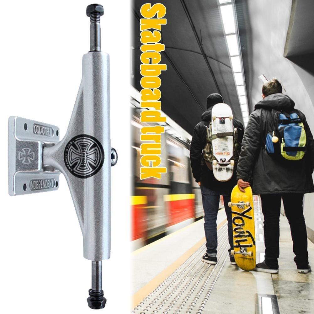 2PCS 5.5inch Adult Double Rocker Bracket High Quality Aluminum Magnesium Alloy Skateboarders Supplies