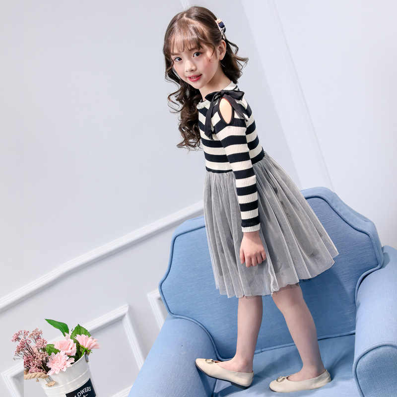 2dd710e4e29 ... children dress 2019 new spring winter 4 - 14 yrs teenage girls long  sleeve dress princess