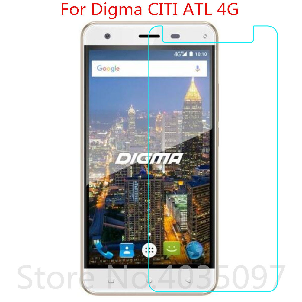 Phone Screen Protectors 2.5d 9h Tempered Glass For Digma Citi Atl 4g Glass On Phone Film Protective Screen Protector For Digma Citi Atl 4g Glass Special Buy Mobile Phone Accessories