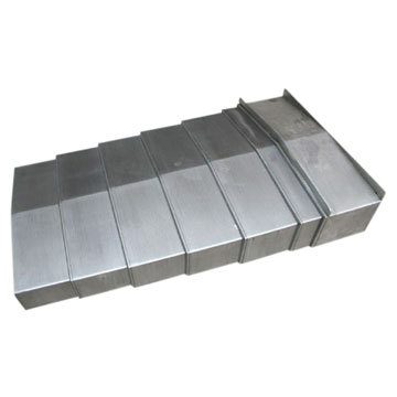 Custom made Special steel plate machine bellows covers