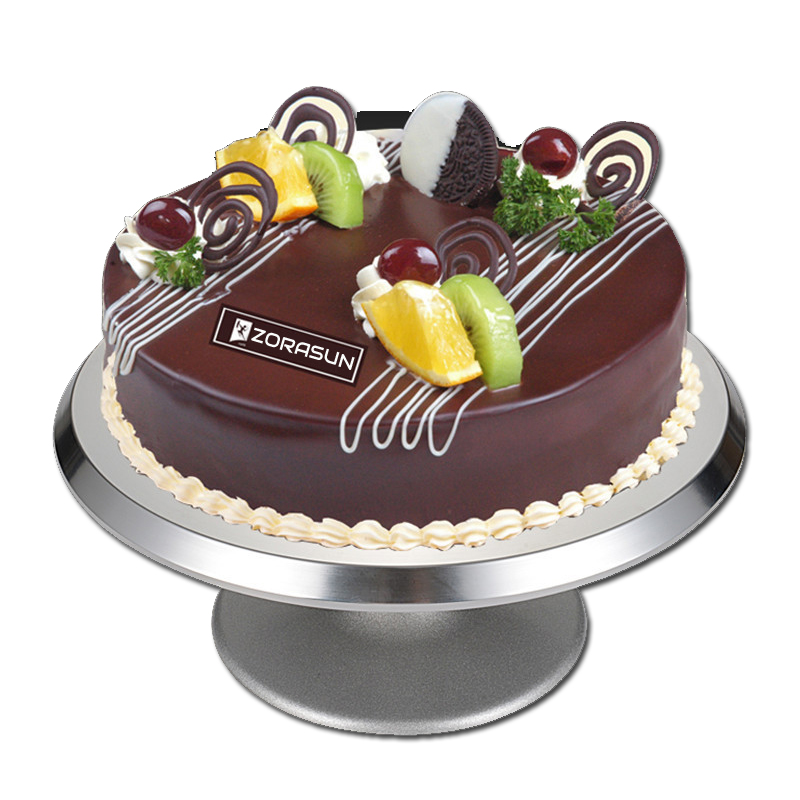 12 Inch Decoration Cake Stand Professional Cake Turntable Aluminum Alloy Cake Decoration Stand Plate Diy Fondant