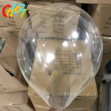 100 pçs de alta qualidade transparente látex balão 12 polegada 2.8 alta transparencyg ballon festa aniversário casamento decoração chuveiro