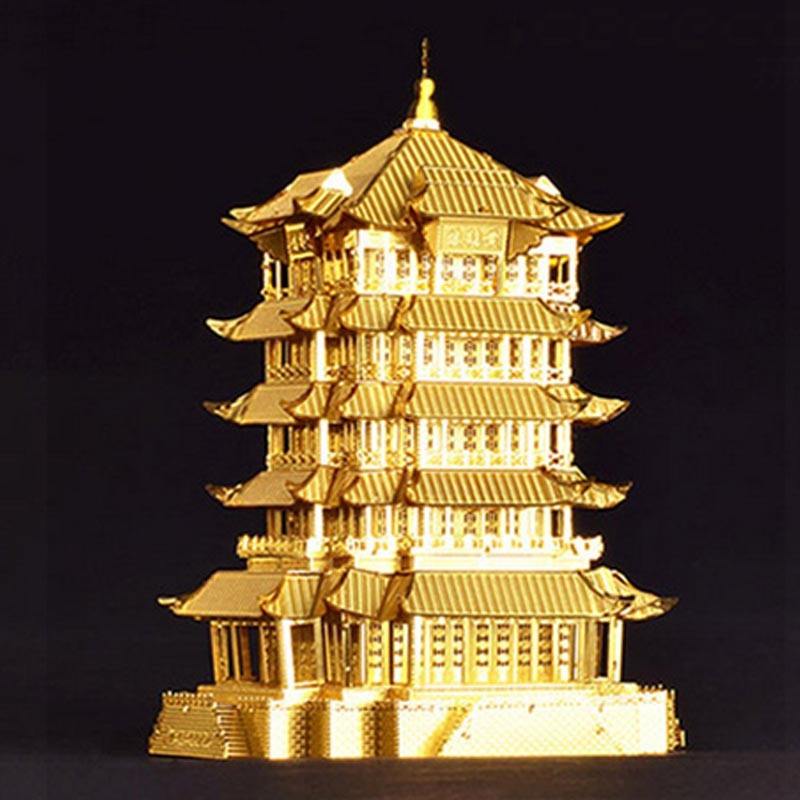 3D-Yellow-Crane-Tower-Metal-Puzzle-Famous-Ancient-Buildings-Kid-DIY-Interesting-Toys-Adults-Manual-Gift-TK0093 (5)