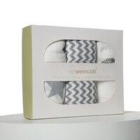 120 120 Muslin Baby Swaddling Blanket Newborn Infant 100 Cotton Swaddle Towel Random Delivery