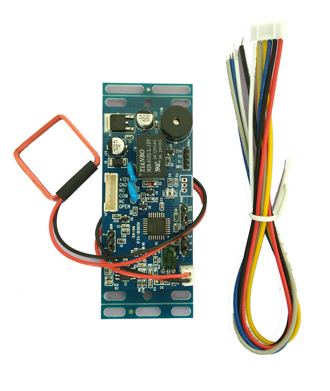 free shipping 15pcs RFID EM/ID Embedded Door Access Control ,intercom access control, lift control ,with 10 em key fob