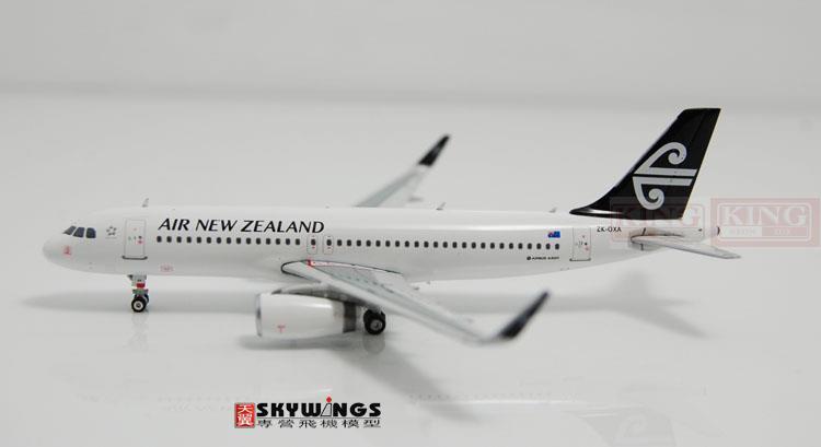 Phoenix A320 ZK-OXA 10795 Air New Zealand shark fin winglets 1:400 commercial jetliners plane model hobby