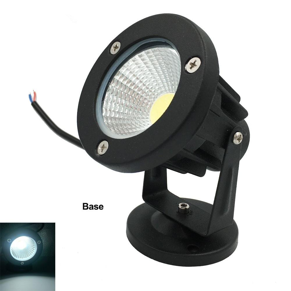 DC12V COB גן מנורה חיצוני אורות הדשא 220V 110V Waterproof IP65 3W 5W 7W 10W 10W תאורה בריכה נתיב נורות LED