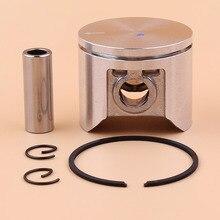 47mm טבעת הבוכנה ערכת עבור HUSQVARNA 359 357 XP 357XP המנסרים חלקי חילוף 537 15 73 02