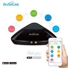 BroadLink RM PRO RM2 WiFi Télécommande Universelle US/UE/ROYAUME-UNI Standard, IR & RF contrôle TV et Climatiseur pour la domotique par téléphone