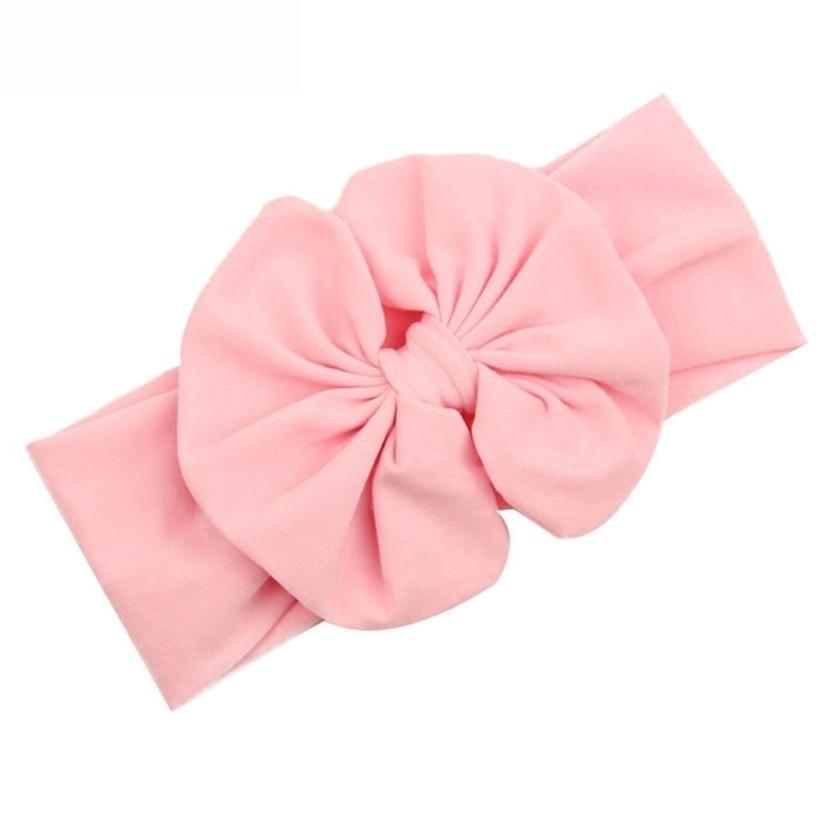 Newly Design 2015 Big Bowknot Little Girls Cotton Headband Children Kids Head Wraps Accessories Drop Shipping economic newly design 2 4mx1 2mx3cm cheap gymnastic mats