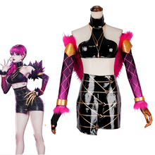 LOL KDA Cosplay Costume K/DA Evelynn Game Outfit Group Sexy Women Halloween