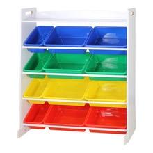 Toy Storage-Racks Bookshelf Cabinet Furniture Children Rangement Enfant Meuble Baby Kids