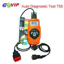 Professional T55 Multilingual OBDII Scanner T55 Code Reader Scanner Auto Diagnostic Tool