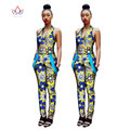 beautiful and cheap african women jumpersuit with print women african clothing  dashiki pant  trajes africanos plus size  WY1126