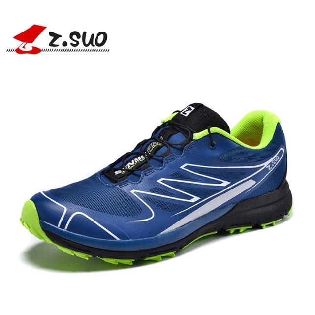 Z. Suo Hombres Zapatos Casuales de La Moda Transpirable hombres Entrenadores zapatos Planos Para Caminar zapatos de los hombres Cómodos Zapatillas Hombre ZS16308