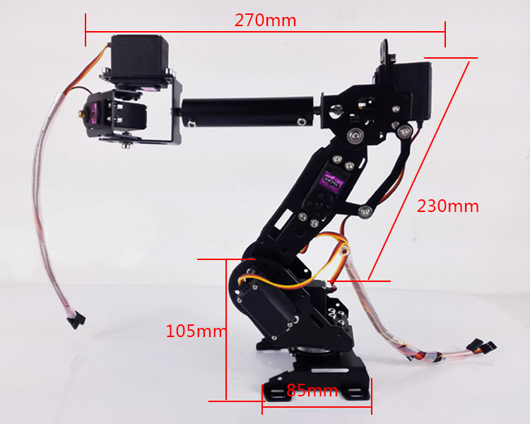 Mechanical Arm Seven Axis Robot 7 Degree of Freedom Mechanical Arm Mobile Arm ABB Industrial Robot Model полюс abb 1sca105461r1001