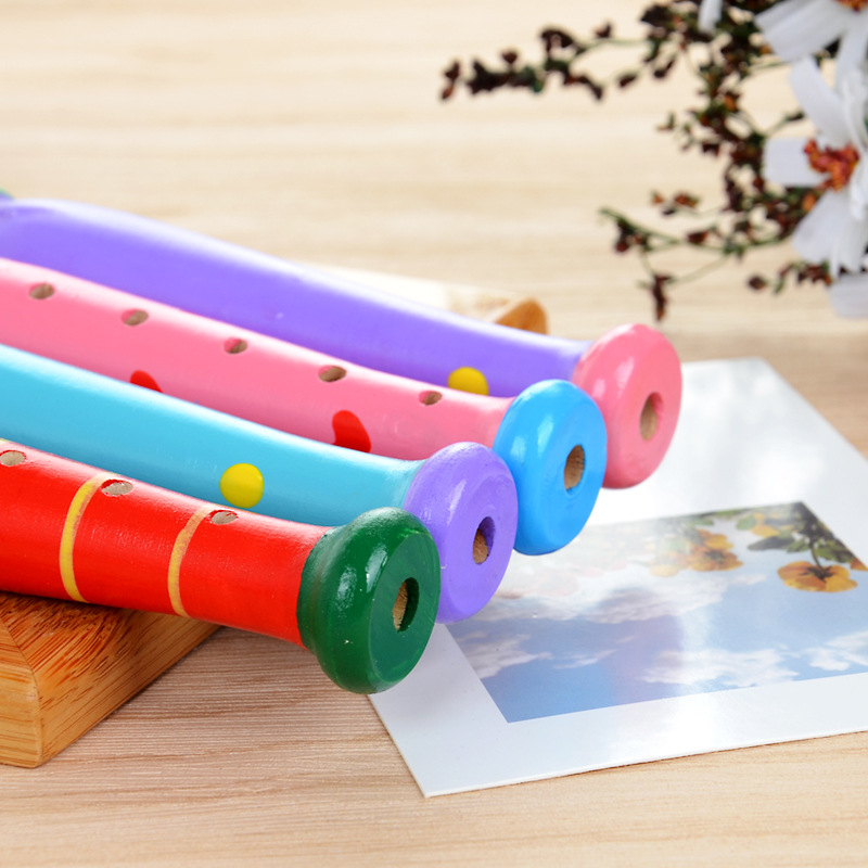 Colorful Wooden Flute 17