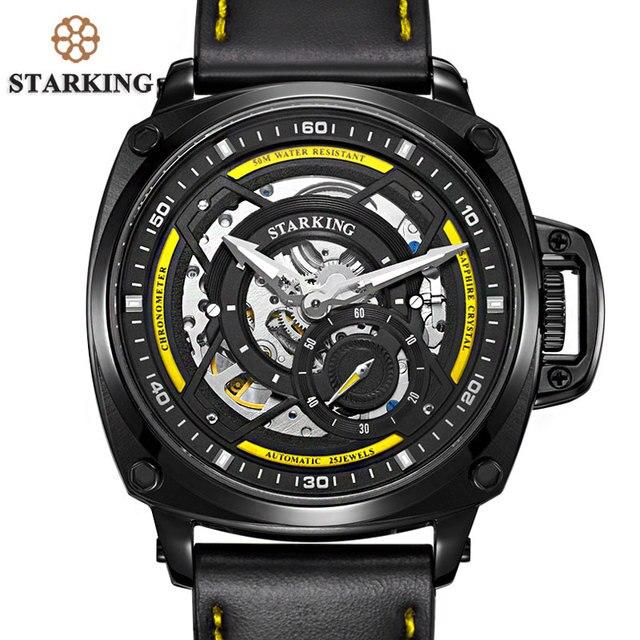 6baece15636 STARKING 2017 New Arrival EUA Exército Relógios Homens Marca Original Auto- Relógio de Pulso Relógios